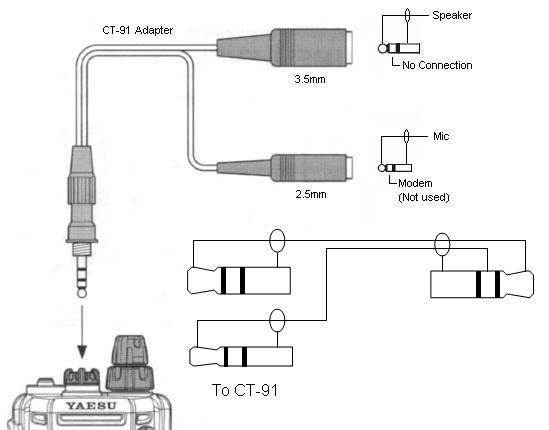 building a helmet headset & ptt for a yaesu/vertex vx-150/170 2m handheld  transceiver